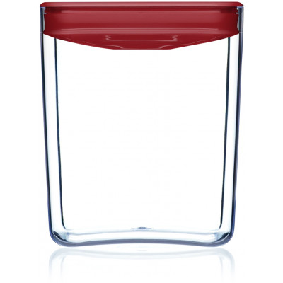 Lebensmittel-Aufbewahrungskiste Pantry-Würfel | Rot-330 cl