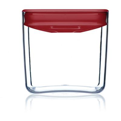Lebensmittel-Aufbewahrungskiste Pantry-Würfel | Rot-140 cl