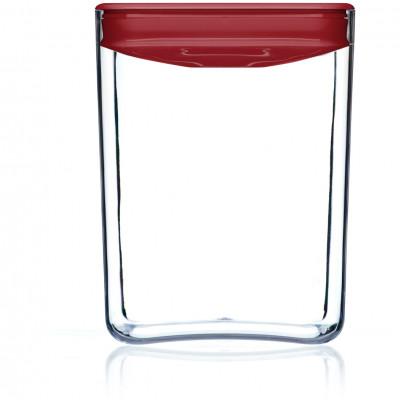 Lebensmittel-Aufbewahrungskasten Pantry-Würfel | Rot-430 cl