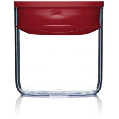 Lebensmittel-Aufbewahrungskiste Pantry Rund | Rot-60 cl
