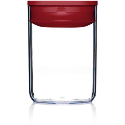 Vorratskiste für Lebensmittel Pantry Rund | Rot-160 cl