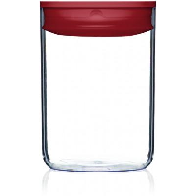 Vorratskiste für Lebensmittel Pantry Rund | Rot-230 cl