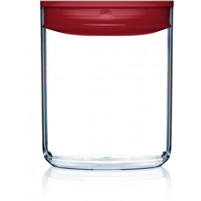 Vorratskiste für Lebensmittel Pantry Rund | Rot-320 cl
