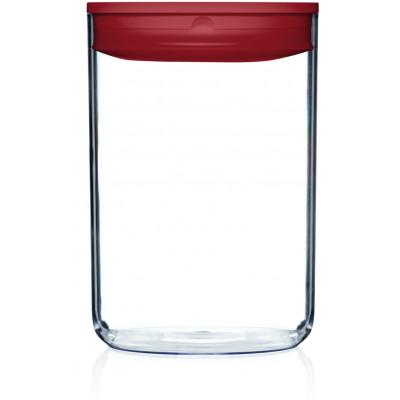 Vorratskiste für Lebensmittel Pantry Rund | Rot-400 cl