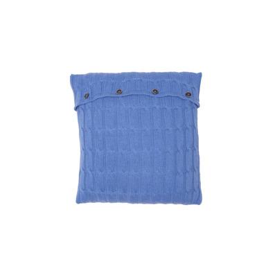 Geflochtener Kissenbezug | Königsblau