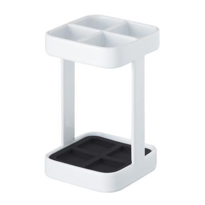 Slim Toothbrush Stand - Tower | White
