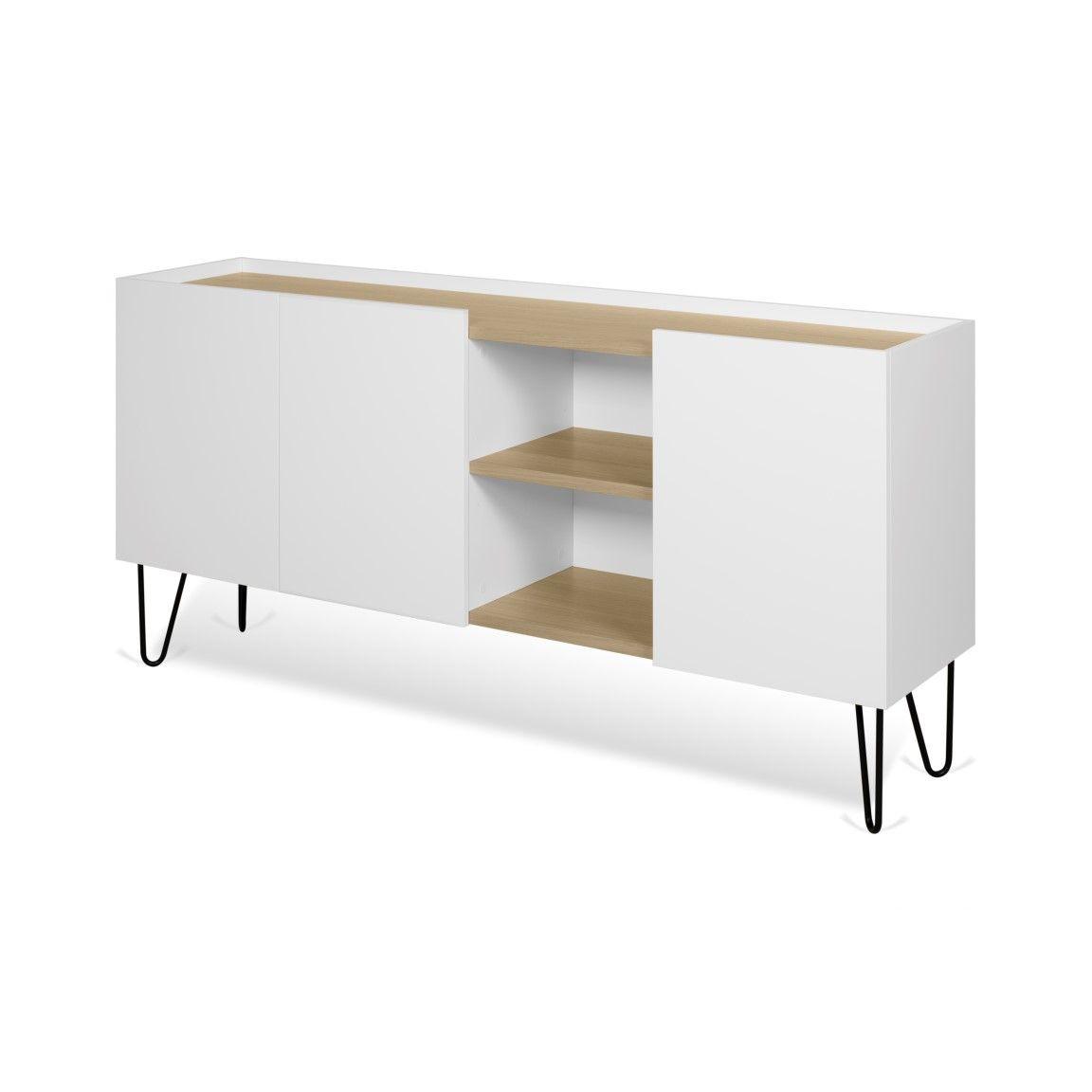 Sideboard Nina | Weiß