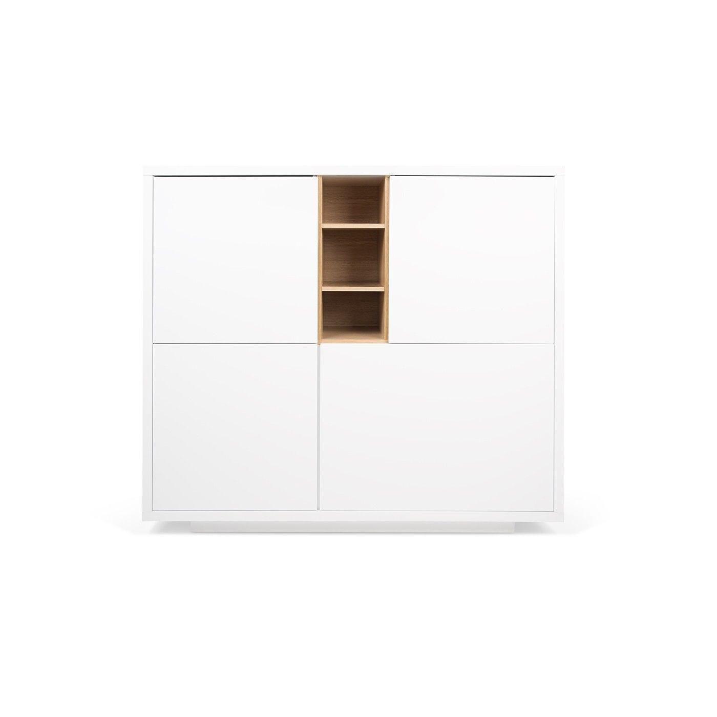 Schrank mit Base Niche | Weiß