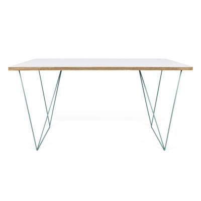 Schreibtisch Flow | Weiß & Grün
