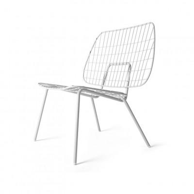 WM String Lounge Chair | Weiß