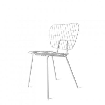 WM String Esszimmerstuhl | Weiß