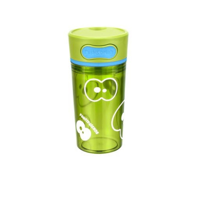 Trinkbecher mit Push-Funktion   Lime Grün