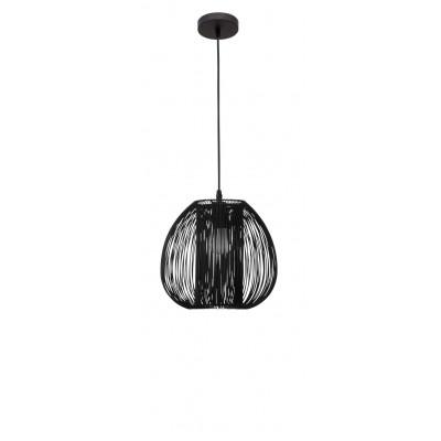 Pendant Light Desire D 28 cm H 250 cm   Black