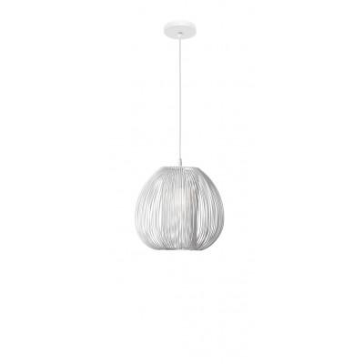 Pendant Light Desire D 28 cm H 250 cm   White