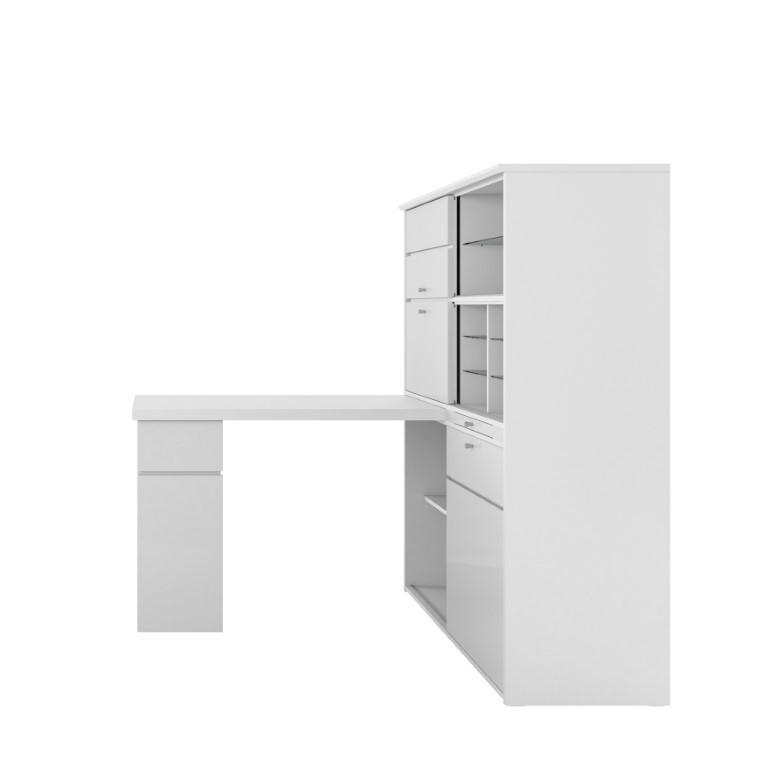 Computertisch 4020 | Holz / Weiß