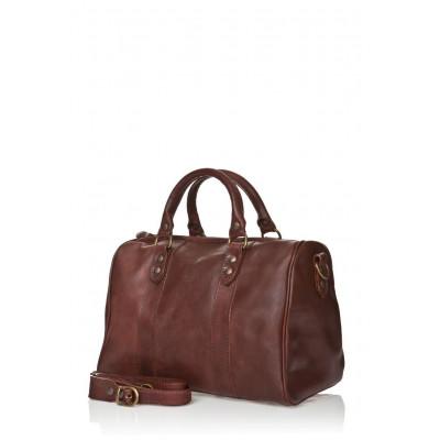 Woman Bag 9600 | Dark Brown Mat