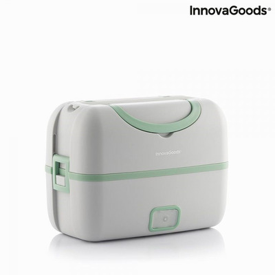 3-in-1 Electric Steamer Lunch Box with Recipes Beneam InnovaGoods Gadget To Go