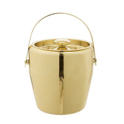 Eiskübel   Edelstahl   Gold
