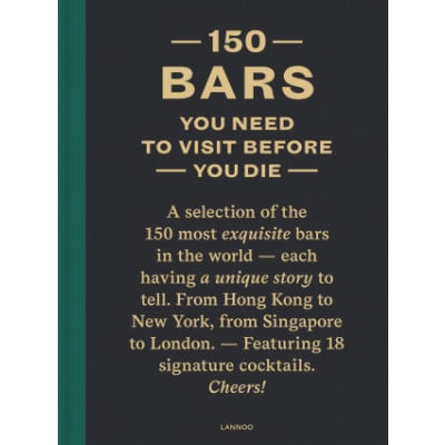 Book 150 Bars You Need To Visit