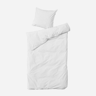 Einzelner Bettbezug mit Kopfkissenbezug 0 x 63 Dagny   Schnee & Kohle