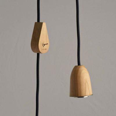 Nuda Regentropfenlampe mit Schalter