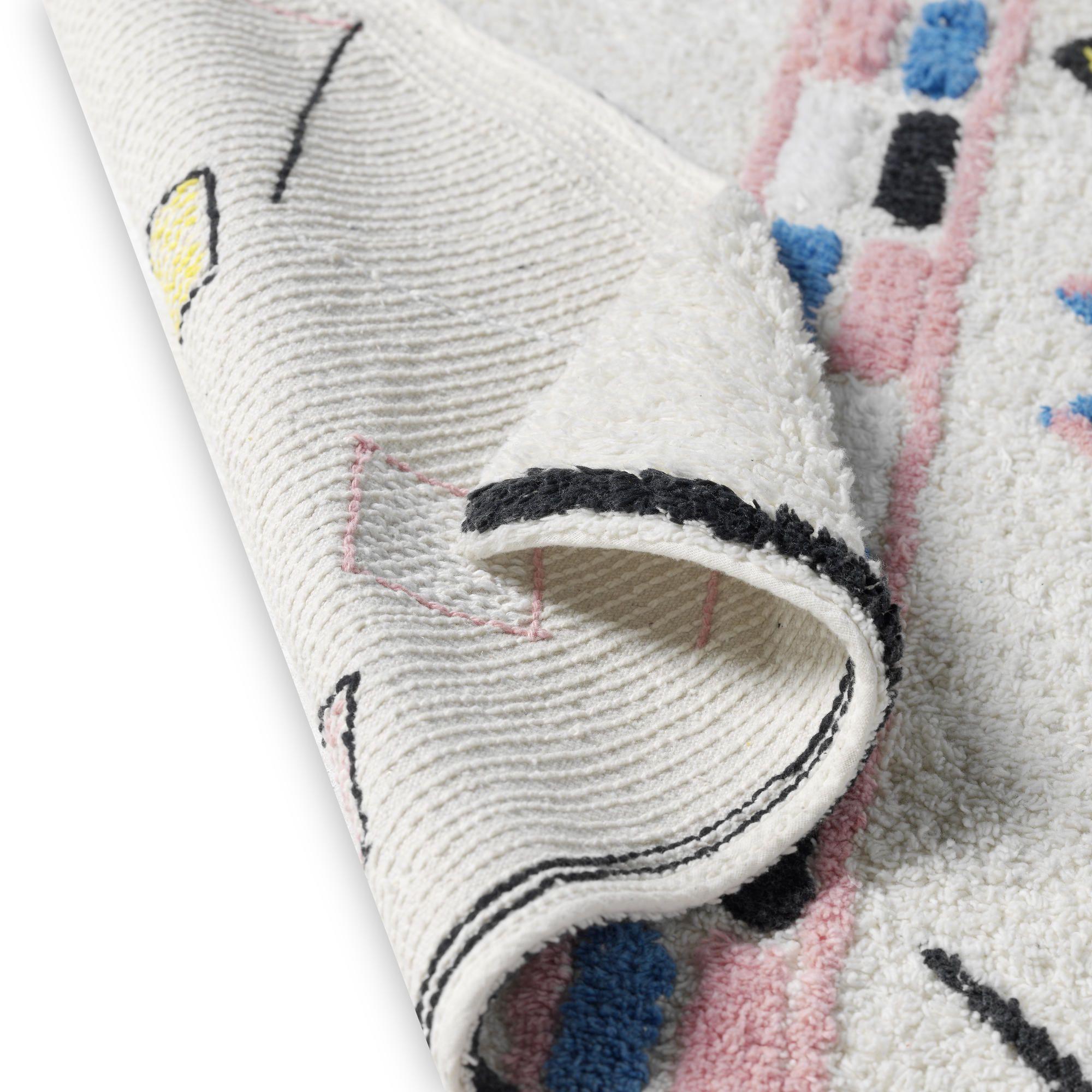 Morocco Rug Colour 103 - 140 x 200 cm   100% Cotton