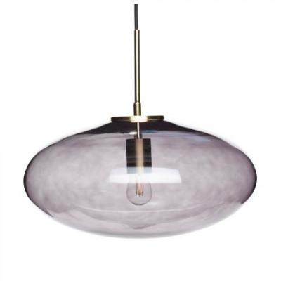 Pendant Lamp Ø 40 cm | Smoked, Brass
