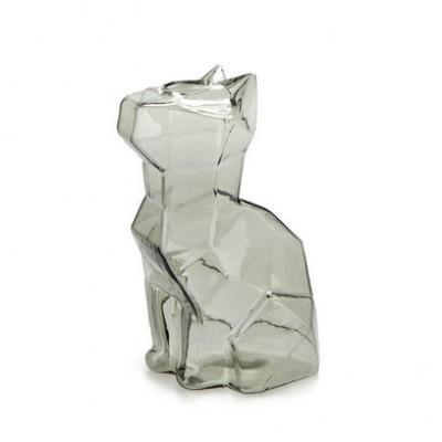 Vase Sphinx Katze 15 cm | Grau