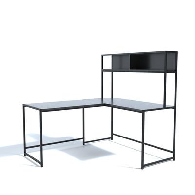 L Design Schreibtisch L207 l Schwarz