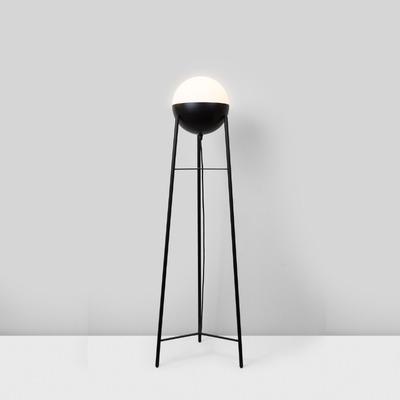 Floor Lamp Half Tripod | Matt Black