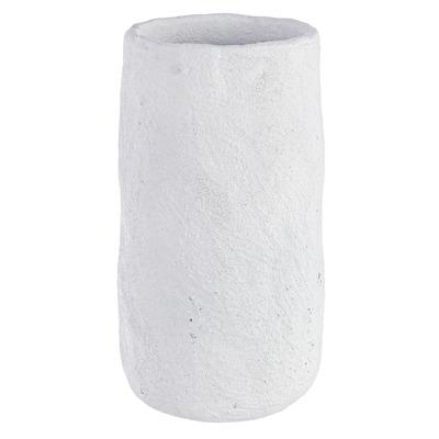 Topf Ercolano | Rund Weiß Zement