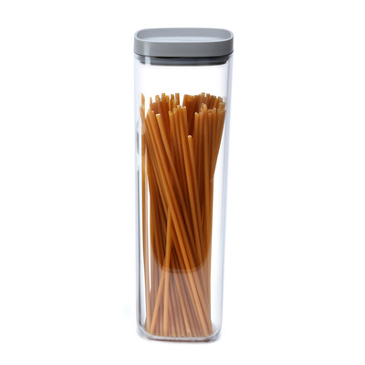 Storage Jar Pinto 2L | Clear-Grey