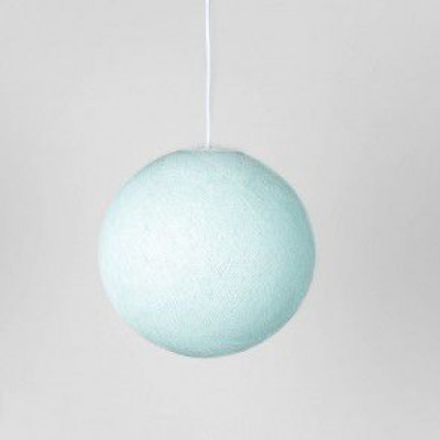 Pendant Lamp   Light Aqua