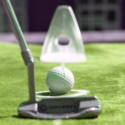 Golf Pressure Putt Trainer | White