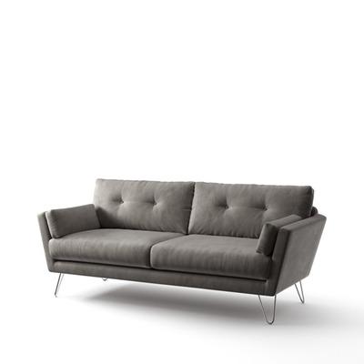 3-Sitzer-Sofa Tido   Taupe