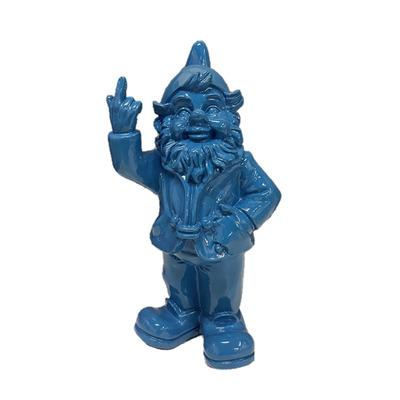Statue F*ck you Zwerg I Blau
