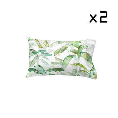 2er Set Kissenbezug 50x75 cm I Yelitza Verde
