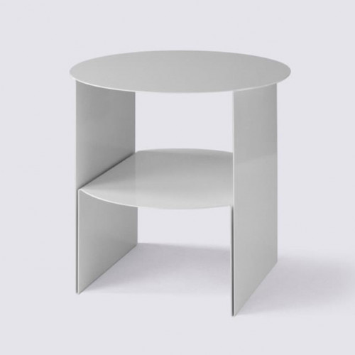 Side Table Passage   White