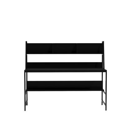 Schreibtisch Eisen L200 l Schwarz