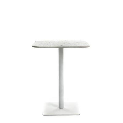 Quadratischer Tisch Terrazzo | Weiß