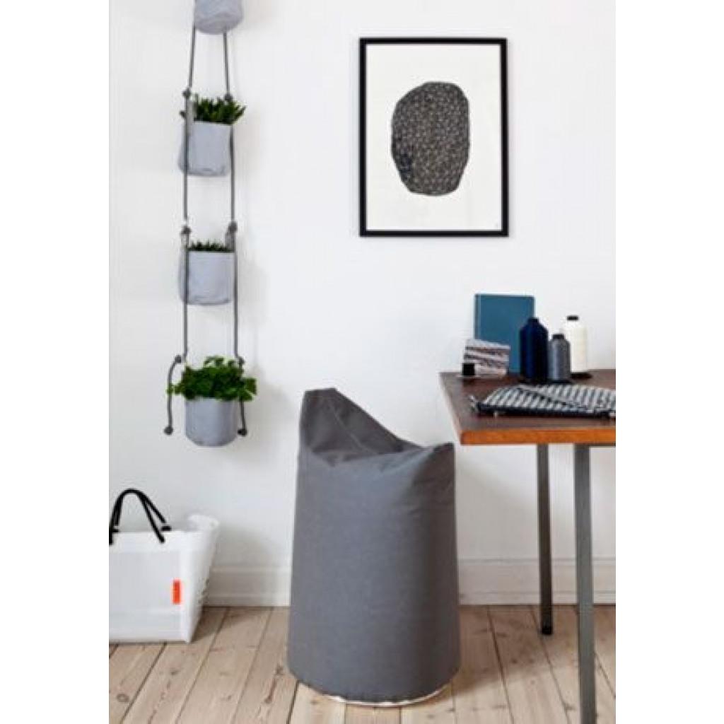 Vertical Soft Pots | Grey