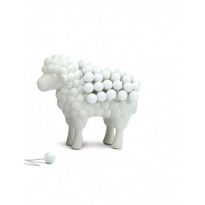 Wooly Pins Pushpin Set of 50 | White
