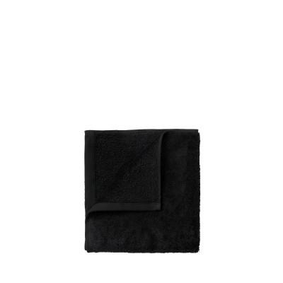 Set mit 4 Gästehandtüchern, 30 x 30 cm | Schwarz
