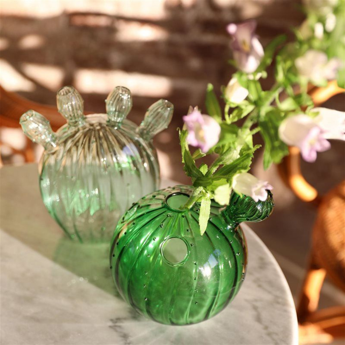 Kaktus-Vase Ozean | Grün
