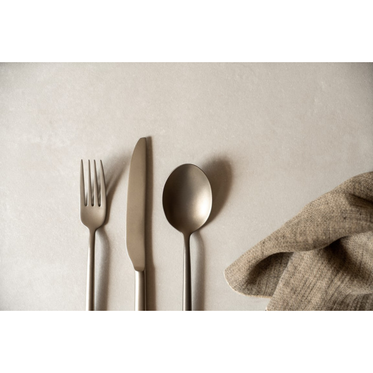 Cutlery Set 800 Champagne   24 Pieces