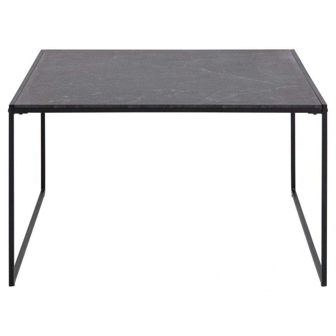 Coffee Table Infinity 80 x 80 cm | Black