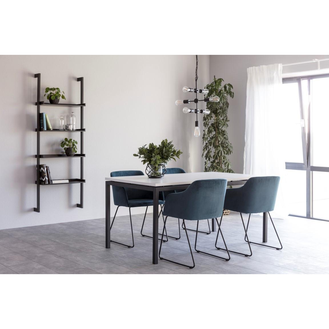 Dining Table Kobe 160 x 90 cm | White