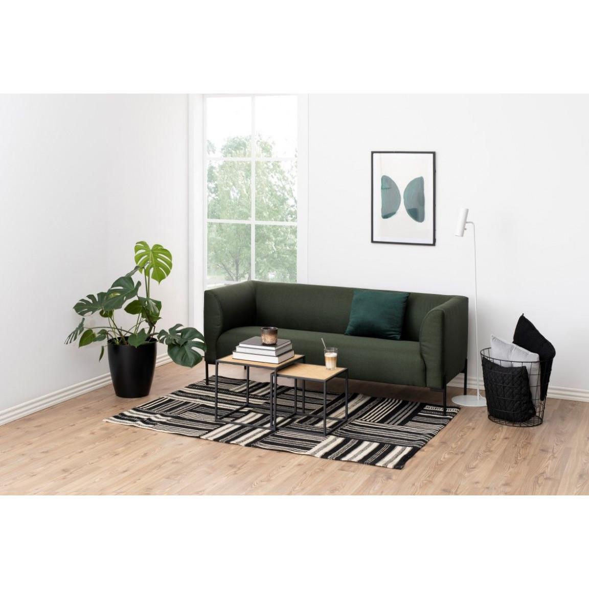 2,5 Seater Sofa Octave   Dark Grey