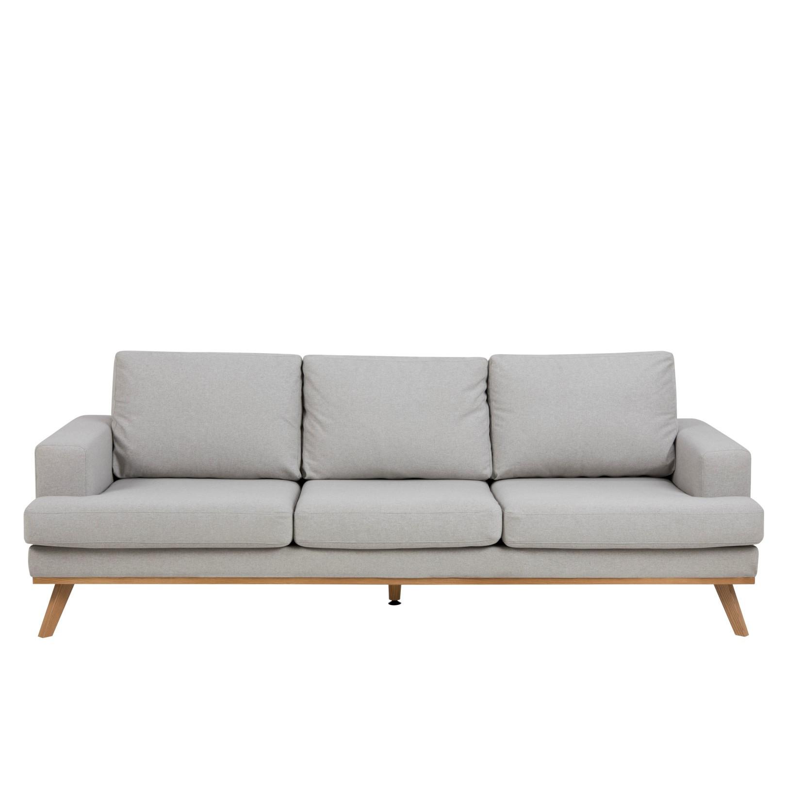 3-Seater Sofa Ken | Light Grey