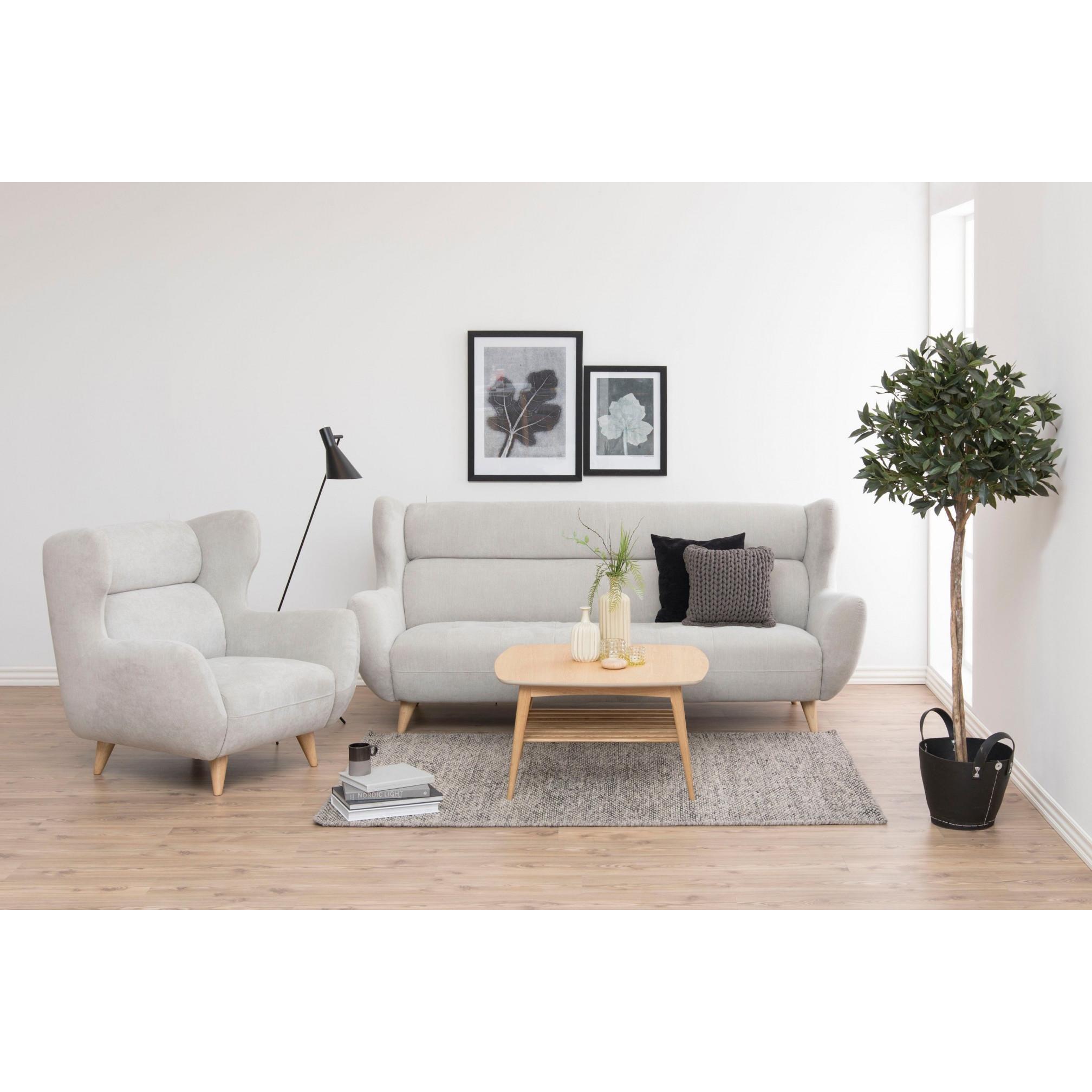 Olli Coffee Table | White Oak